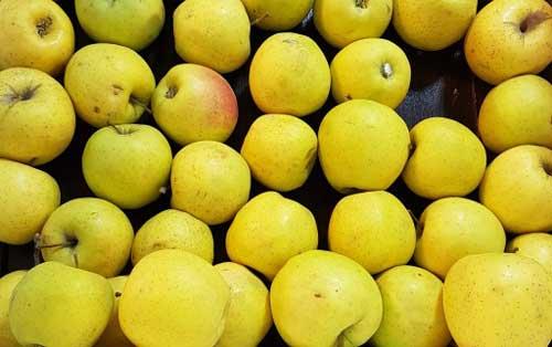 خرید سیب زرد درجه دو