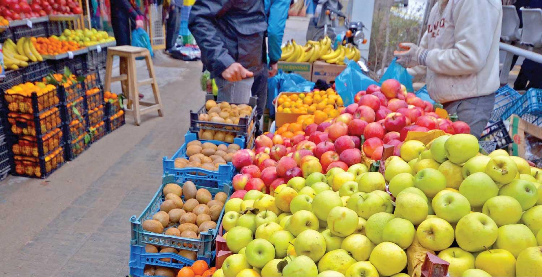 خرید عمده سیب از بازار