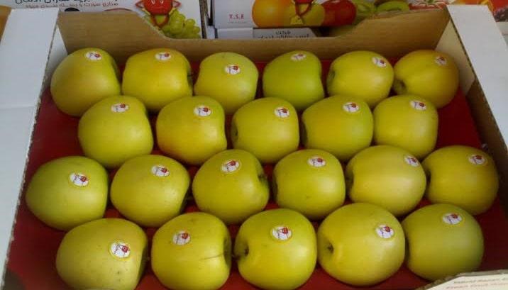 صادرات سیب زرد به ازبکستان