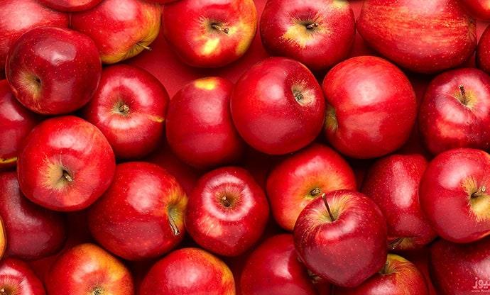 قیمت سیب در بازار