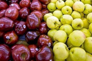 بهترین سیب قرمز و سیب زرد ایران
